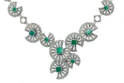 Marcasite necklace NE0508 1