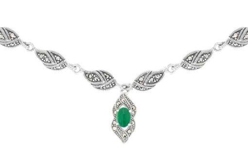 Marcasite necklace NE0510 1