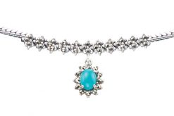 Marcasite necklace NE0513 1