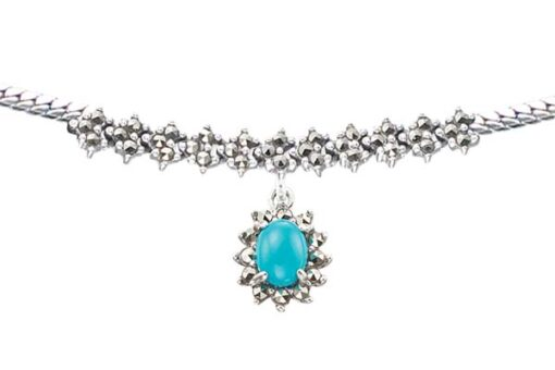Marcasite necklace NE0513 1