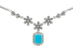 Marcasite necklace NE0514 1
