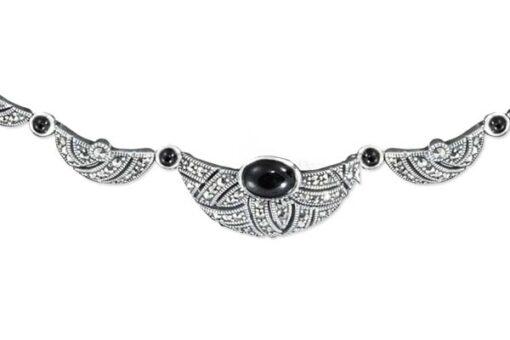 Marcasite necklace NE0515 1