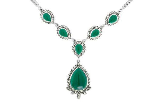 Marcasite necklace NE0520 1