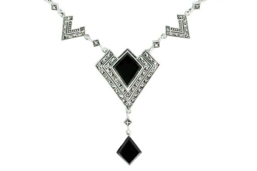 Marcasite necklace NE0525 1