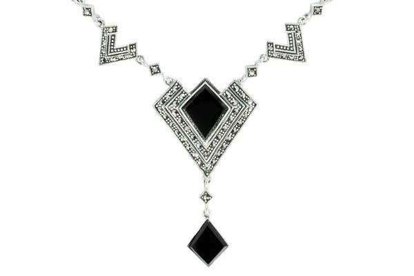 Marcasite necklace NE0525 1