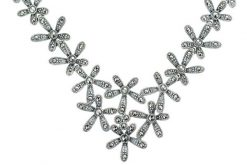 Marcasite necklace NE0528 1