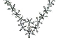 Marcasite necklace NE0528 1