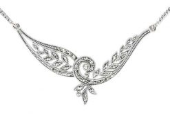 Marcasite necklace NE0532 1
