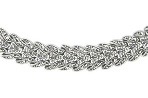 Marcasite necklace NE0534 1