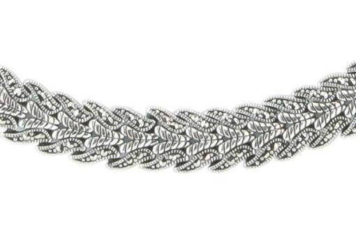 Marcasite necklace NE0534 1