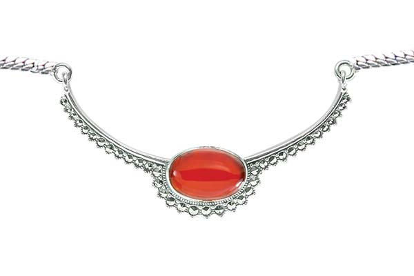 Marcasite necklace NE0545 1