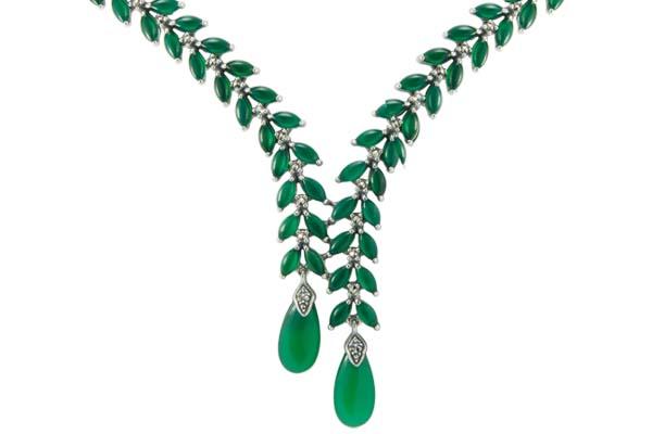Marcasite necklace NE0553 1