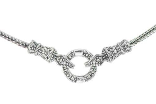 Marcasite necklace NE0559 1