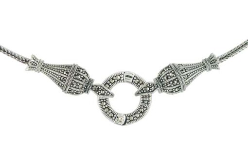Marcasite necklace NE0560 1
