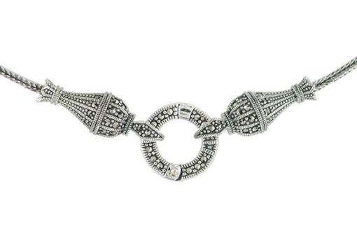 Marcasite necklace NE0560 1