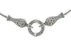 Marcasite necklace NE0561 1