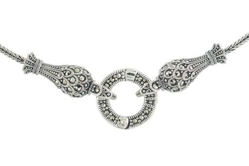 Marcasite necklace NE0561 1