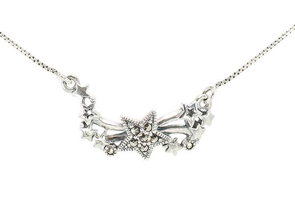 Marcasite necklace NE0572 1