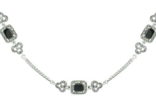Marcasite necklace NE0573 1