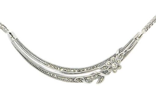 Marcasite necklace NE0578 1
