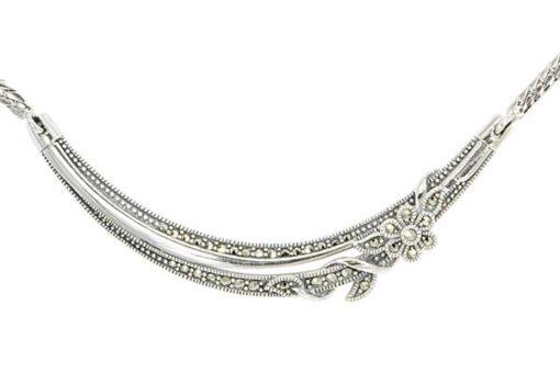 Marcasite necklace NE0578 1