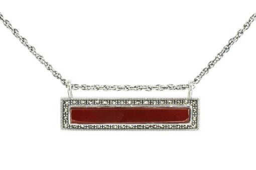 Marcasite necklace NE0585 1