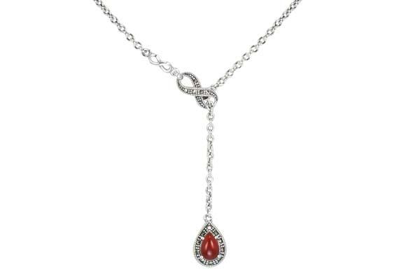 Marcasite necklace NE0594 1