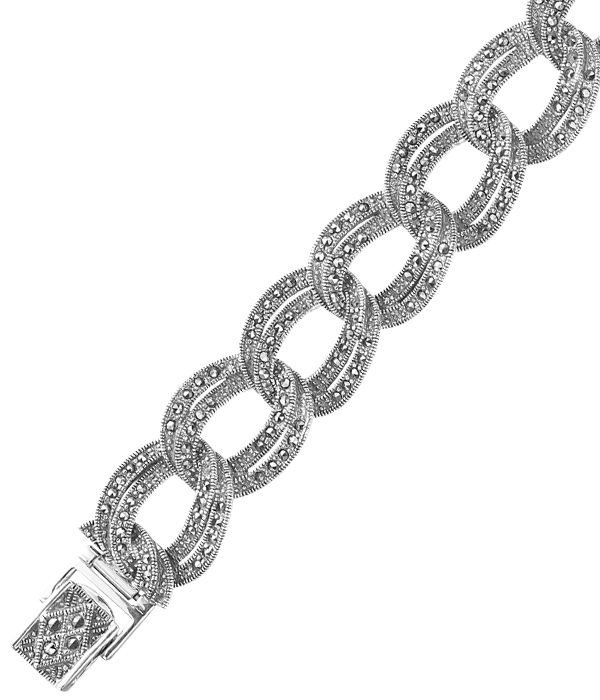 marcasite bracelet BR0081 1