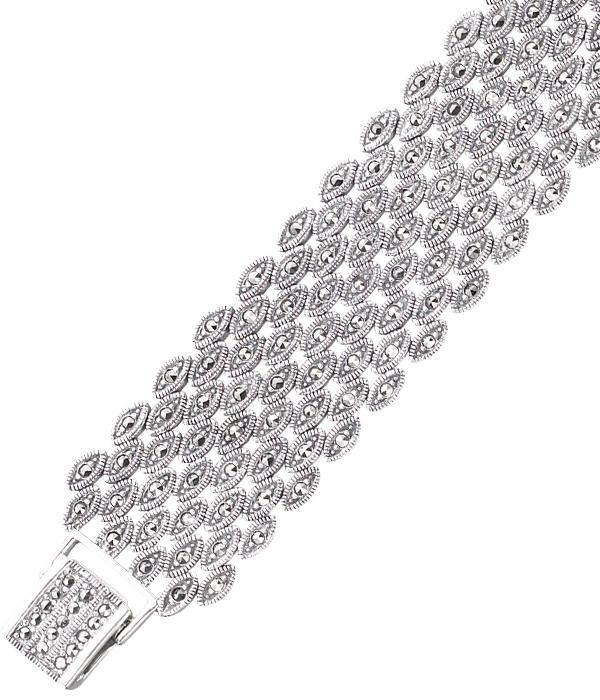 marcasite bracelet BR0114 1
