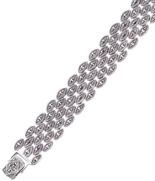 marcasite bracelet BR0115 1