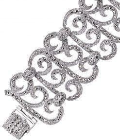 marcasite bracelet BR0124 1