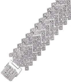 marcasite bracelet BR0161 1