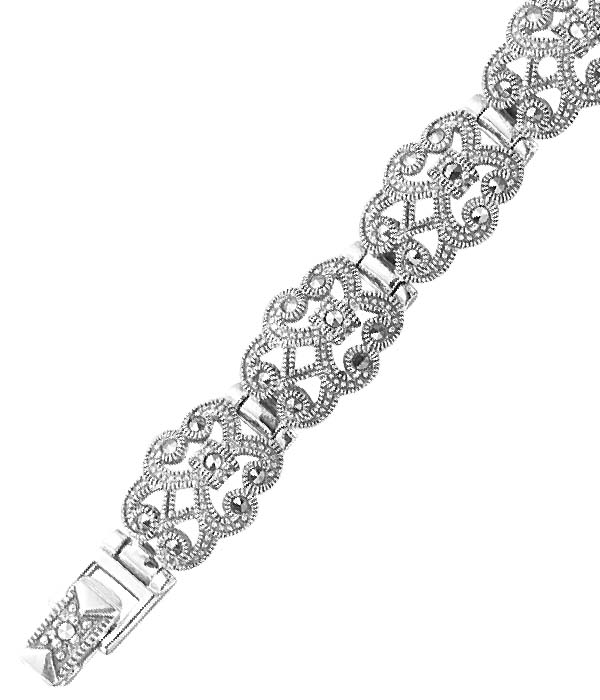 marcasite bracelet BR0250 1
