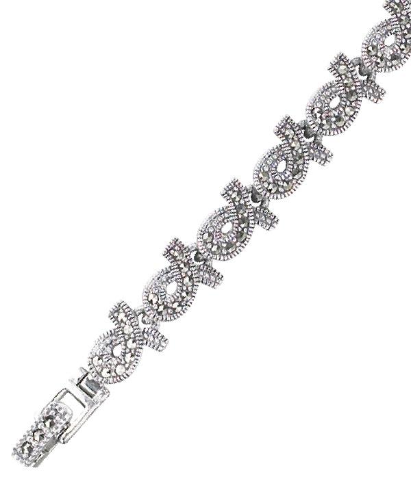 marcasite bracelet BR0376 1