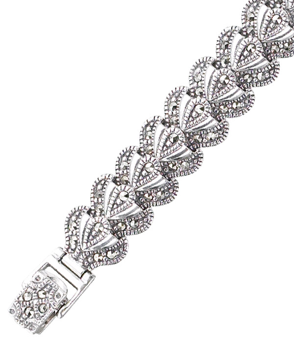 marcasite bracelet BR0415 1