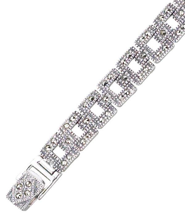 marcasite bracelet BR0417 1