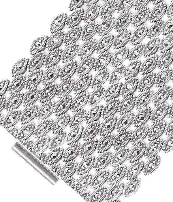marcasite bracelet BR0460 1