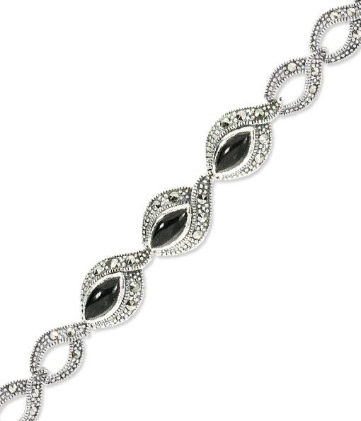 marcasite bracelet BR0618 1