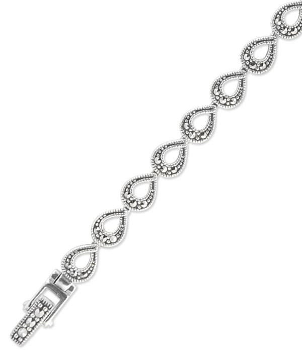 marcasite bracelet BR0666 1