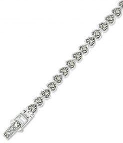 marcasite bracelet BR0674 1