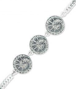 marcasite bracelet BR0707 3L 1