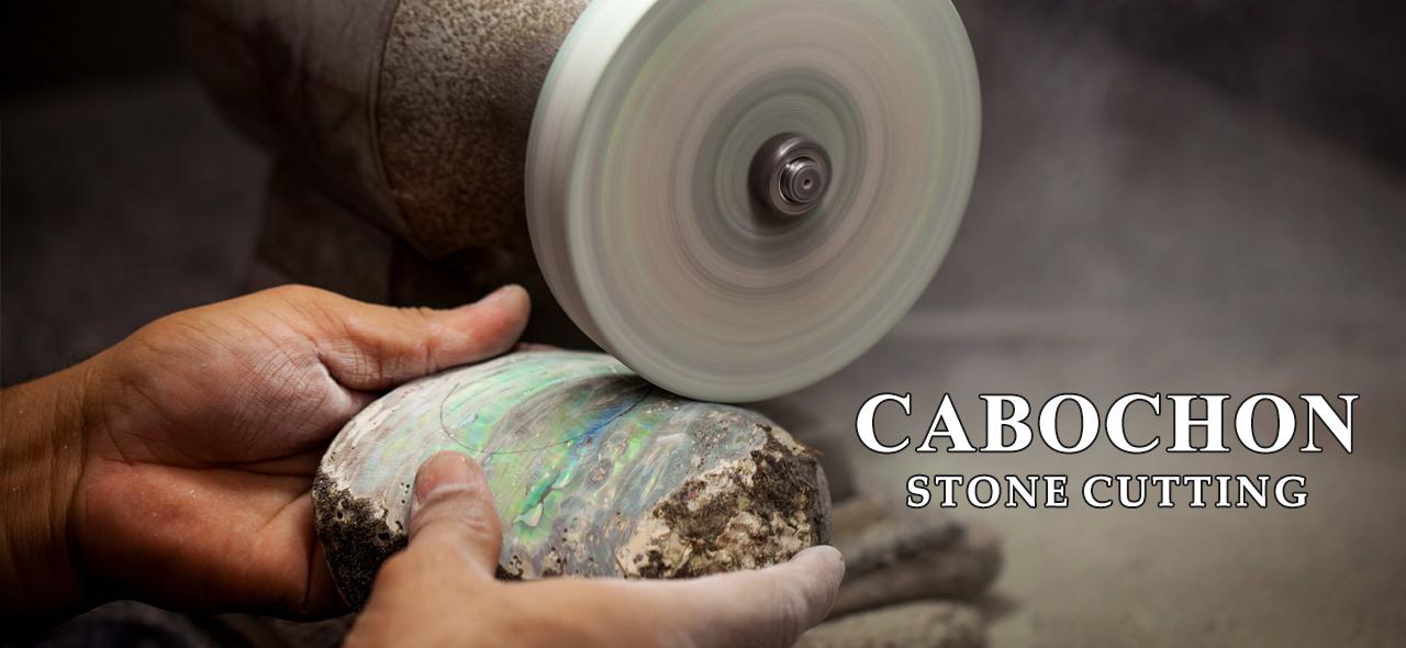 Cabochon Stone Cutting 01