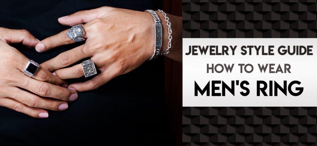 How Men Wear Ring 111