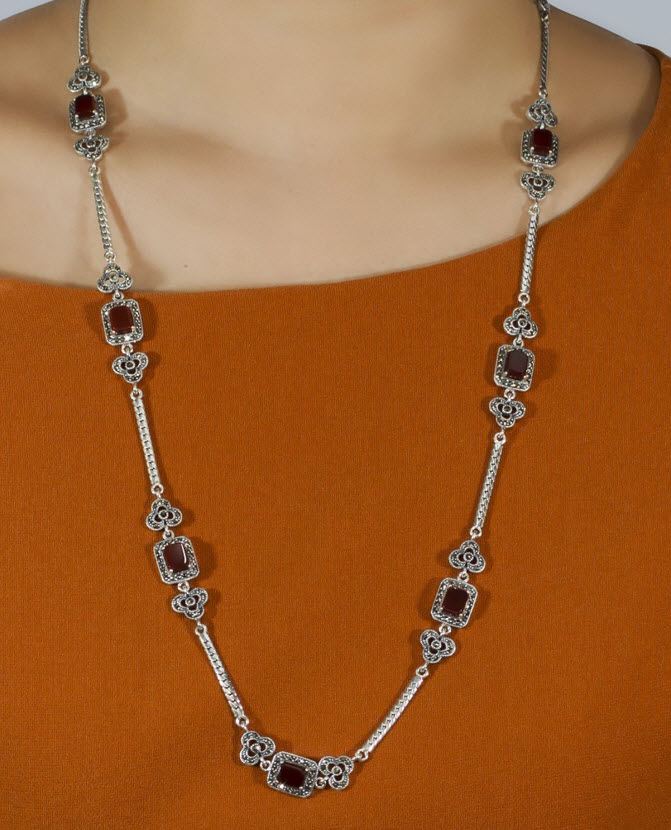 Top 10 Most Versatile Sterling Silver Necklaces for Women 008