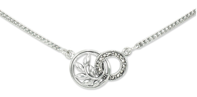 Sterling Silver Necklace for Women-5555