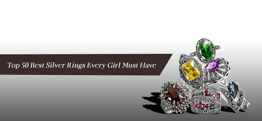 Top 50 Best Silver Rings Every Girl Must Have 001