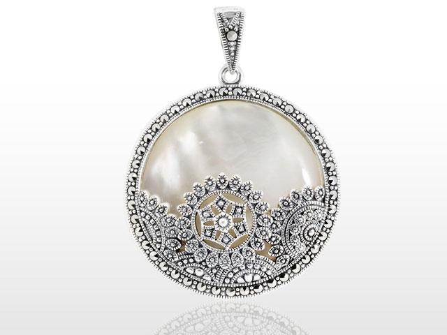 Wholesale marcasite pendant 05