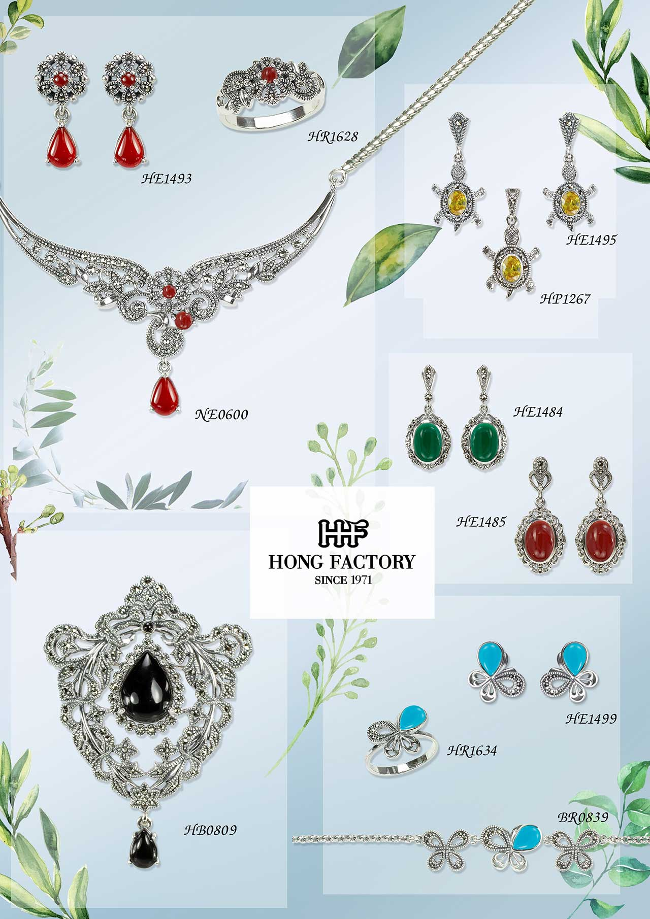 MARCASITE JEWELRY New Arrival 001