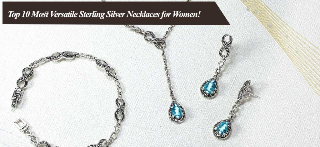 Sterling Silver Necklace for Women 000