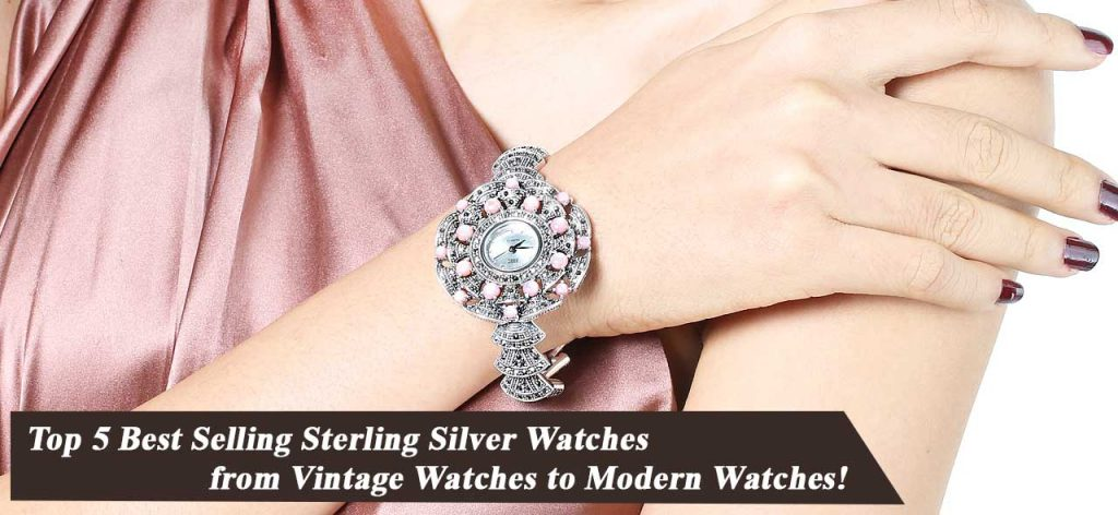 Top 5 Best Selling Sterling Silver Watches from Vintage Watches to Modern Watches 001